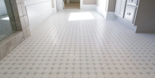 White Bathroom Tile