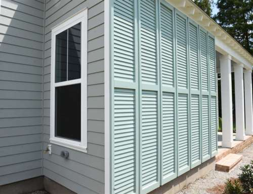 Home Exterior Shutters