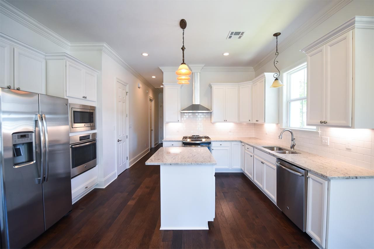 Tyson Construction White Kitchen