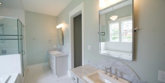 his and her sinks, Bathrooms