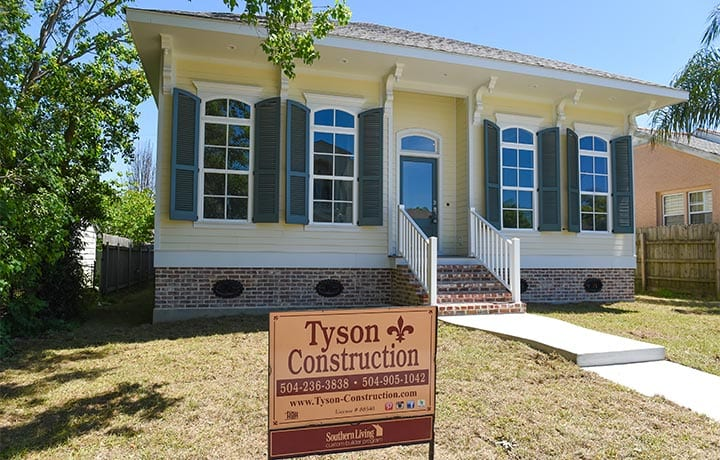 Residential homebuilder, Tyson Construction