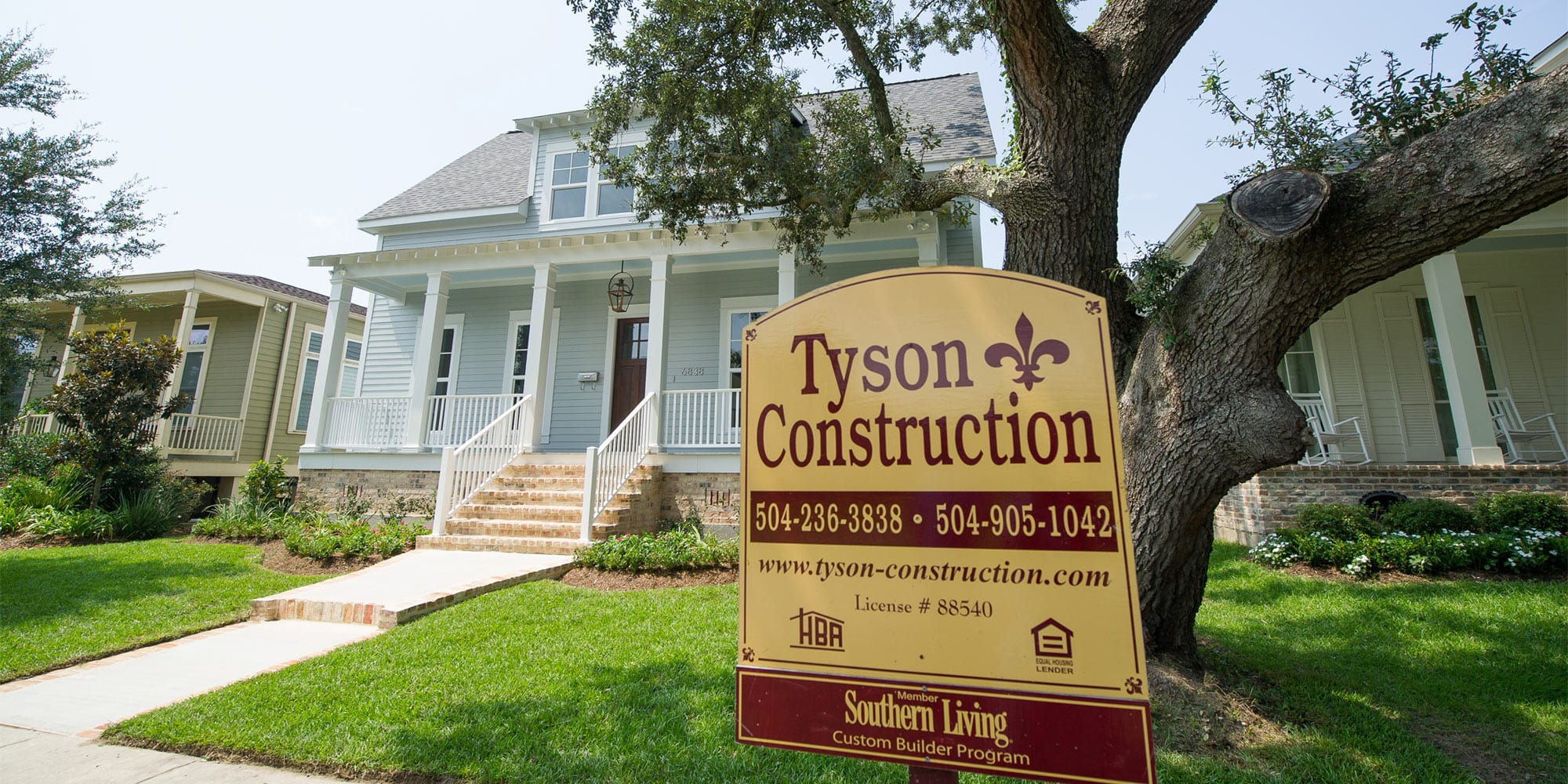Contact Tyson Construction